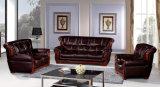 Sofà di cuoio 818 del cuoio dell'annata della mobilia del sofà della Doubai