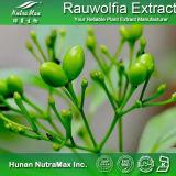 Extrait naturel 8%, 20%, réserpine de Rauwolfia de 100% de 40%