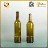 Бутылка 750ml красного вина Бордо печатание экрана стеклянная с пробочкой (131)