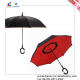 새로운 품목 휴대용 핸즈프리 똑바른 반전 거꾸로 한 우산