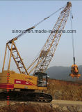 Гидровлический поднимаясь поднимая кран на гусеничном ходе оборудования CQUY550