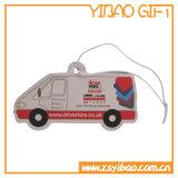 Colgante de papel del coche Ambientador con Long Lasting Fragancia (YB-AF-02)