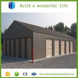 Construction mobile en acier d'atelier d'entrepôt de structure en métal à vendre