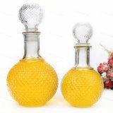 700ml esvaziam o frasco do conhaque com o filtro de alumínio do vidro do tampão