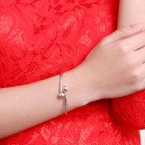 Bardian figura rotonda del braccialetto dai 925 Sterling del braccialetto d'acciaio dell'argento sterlina la maggior parte del braccialetto popolare
