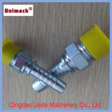 黄色かWhite Zinc Plated Male/Female Thread Hydraulic Fittings/Adapters