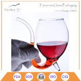 taza del vidrio de vino rojo del diablo del vampiro 300ml