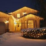 Luz de la Navidad de la cortina de ventana del LED para la decoración del día de fiesta del cuarto de baño del hogar de la boda