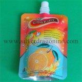 نوعية يعبّئ طباعة [ستند-وب] كيس حقيبة مع صنبور لأنّ عصير