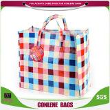 Mehrfachverwendbare wasserdichte Lebensmittelgeschäft-Einkaufstasche (KLY-PP-0410)