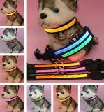 저가 & LED 가벼운 번쩍이기를 가진 LED 개 목걸이