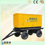 Generador silencioso del motor diesel de la energía eléctrica del acoplado 250kVA 200kw de China