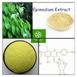 Epimedium 추출; 산양 위드 단단한 추출; Icariin; Icariine; Epimedium 나물 Ext