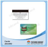 Cartes de visite professionnelle de visite transparentes de PVC NFC de plastique