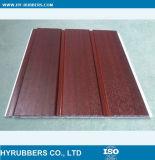 木製の穀物によって薄板にされるPVC壁パネル