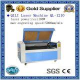 Máquina de estaca Ql-1290 da gravura do laser do coelho