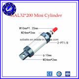 Mal Cilinder van de Lift van de Lucht van de Cilinder van de Cilinders van de Reeks de Mini Pneumatische Pneumatische Ronde