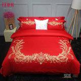 Комплекты постельных принадлежностей венчания красного цвета
