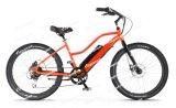 Шаг-Через рамки датчика вращающего момента велосипеда крейсера батарею лития электрической интегрированный (OC2)