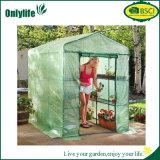 Serra pieghevole del giardino del film di materia plastica di Onlylife con Windows aperto