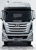 Евро IV 265-383HP Tractor Truck Hyundai 4X2