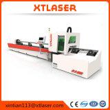 Автомат для резки лазера волокна размера высокой точности малый, резец лазера металла 500W