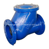 공 Check Valve, Flanged Type, Face to Face DIN 3202-F6