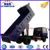 petite mini cargaison 4X2 de faible puissance automatique inclinant le camion à benne basculante de tombereau de camion à benne basculante