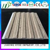 Fabricante-fornecedor de madeira de China do painel de parede da decoração do Paneling do PVC da cor