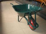 熱い販売の耐久の鋼鉄構築の手押し車、構築、庭の一輪車