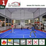 Tent van de Sporten van de Spanwijdte van het Frame van het aluminium de Duidelijke met Hoge Eave Hoogte voor de Spelen van het Badminton