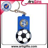 PVC Keychain do cliente para o fósforo de futebol