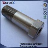 Commande numérique par ordinateur usinant Axel d'acier inoxydable fabriqué en Chine