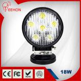Luz principal redonda de 18 vatios LED