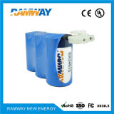 3.6V 54ah Er34615-3 Lithium Battery Pack für Field von Hydrology Monitoring Instruments