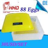 기계 판매 Yz-88를 부화하는 88 가득 차있는 자동적인 계란