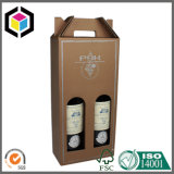 Покрашенное Corrugated пиво доски коробки 4 пакета носит коробку