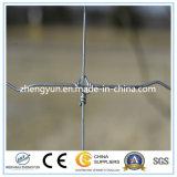 Heißer eingetauchter galvanisierter Maschendraht-örtlich festgelegter Knoten-Zaun-/Field-Zaun