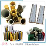 GRP, perfil da canaleta em U da canaleta de Pultruded C da fibra de vidro de FRP para a manufatura de China