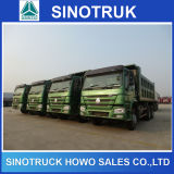 China hizo Sinotruck 336HP 25-40tons HOWO volquete Piedra Arena Camión volquete en venta en Africa