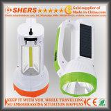 Torche à LED 1W solaire avec lampe de bureau LED COB (SH-1984)