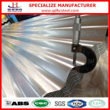 Anti Fingerprint Galvalume Corrugated Steel Sheet per Roof