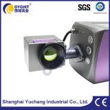 Máquina de la marca del laser del CO2 de la botella de los plásticos