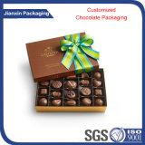 Empaquetado plástico elegante modificado para requisitos particulares del chocolate