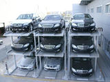 Car semplice Garage 2 Level Parking Lift per 4 Cars