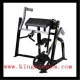 Bíceps asentado comercial Kh-37 del equipo aprobado de la gimnasia del Ce