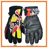 Перчатка зимы лыжи, теплые перчатки, перчатки Snowboard спорта (7744)