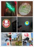 10000 люменов рекламируя на репроекторе изображения машины стены одиночном статическом