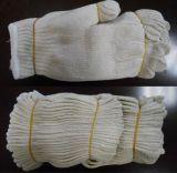 Естественный Knit шнура полиэфира хлопка 7 резьб датчика 4 работая перчатка Dck704