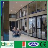 Алюминиевая стеклянная раздвижная дверь с австралийским стандартом